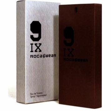3 Pack - Rocawear 9IX Eau de Toilette Spray for Men 1 oz
