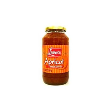 Lieber's Apricot Preserves 32 Oz. Pack Of 3.