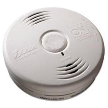 Kidde Bedroom Smoke Alarm w/Voice Alarm, Lithium Battery, 5.22Dia x 1.6Depth