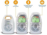 Babies R Us Vtech DM223-2 - Safe & Sound Digital Audio Monitor with Two Parent Units