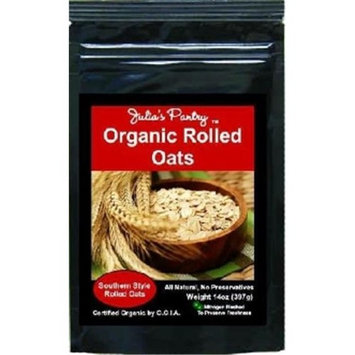 Julias Southern Magnolia JP430 Organic Old Fashioned Rolled Oats
