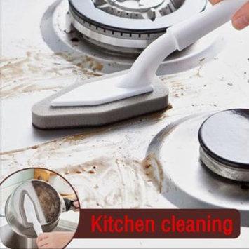 Womail Kitchen Nano Emery Magic Clean Rub Pot Rust Focal Stains Sponge Removing Kit