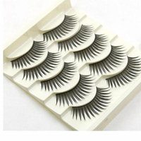 Mosunx 5 Pairs Fashion Natural Handmade Long False Eyelashes Makeup
