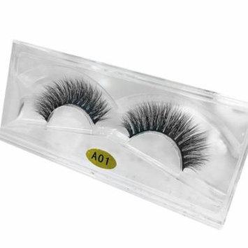 Mosunx 3D Natural Multi Layer Thick Cross Eye Lashes False Eyelashes A01