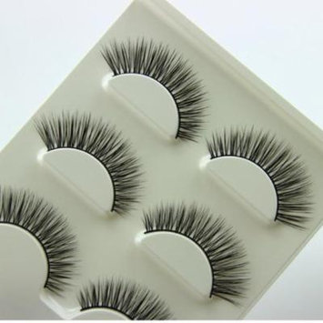 Mosunx 3 Pair Natural Look False Eyelashes Voluminous Eyelashes Extension Makeup