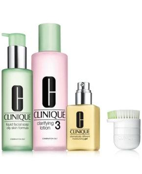 Clinique 3-Step Skincare Set for Oilier Skin