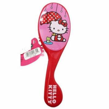 Sanrio's Hello Kitty Dark Pink Small Size Girls Hairbrush