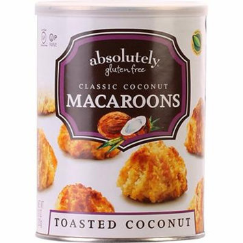 Absolutely Gluten Free Classic Toasted Coconut Macaroons 10 oz. Pack Of 2