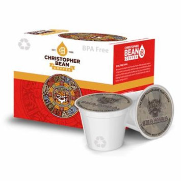 French Roast Sumatra Single Cup Coffee Christopher Bean Coffee, For Keurig Brewers ( 12 Count Box)