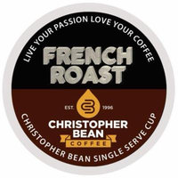 French Roast Single Cup Coffee Christopher Bean Coffee K Cup, For Keurig Brewers ( 12 Count Box)
