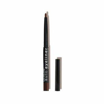 (6 Pack) L.A. COLORS Auto Eyeliner - Black Brown