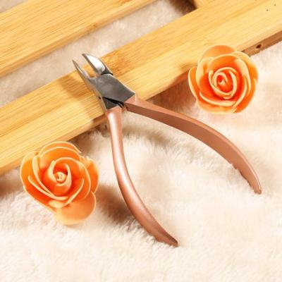 Yosoo Rose Gold Nail Art Decorations Picker Rhinestone Remover Nail Cutter Scissors Manicure Tools,Decorations Picker, Rhinestone Picker