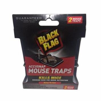Black Flag Accusnap11050 Rat Mouse Snap Traps - 2 Ea