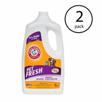 Arm & Hammer Pet Fresh Formula Carpet Extractor Stain Remover Cleaner (2 Pack)