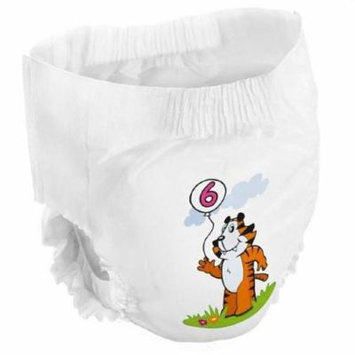 Youth Training Pants Bambo Nature Pull On Disposable Heavy Absorbency X-Large Over 40 lbs., Bag of 18