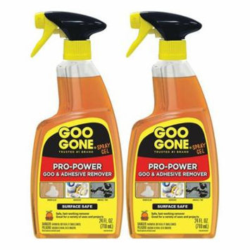 Goo Gone Pro-Power Spray Gel, 24 fl oz - 4 Pack