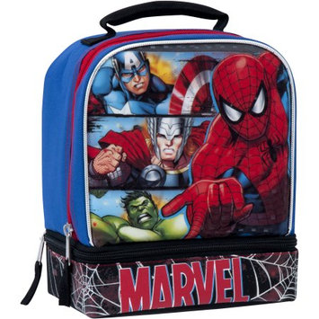 Fast Forward Llc Marvel Universe Insulated Dual Compartment Lunch Bag