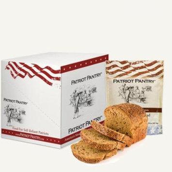 Patriot Pantry Honey Wheat Bread Case Pack (72 servings 6 pk.) Emergency Food