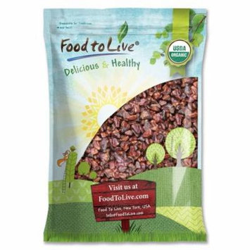 Organic Dried Strawberries by Food to Live (Non-GMO, Sweetened, Unsulfured, Vegan, Bulk, Product of the USA) — 8 Pounds
