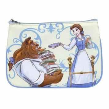 Disney Beauty and The Beast Cosmetic Pouch, Multi-Color
