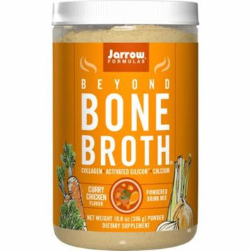 Jarrow Formulas Beyond Bone Broth Collagen + Activated Silicon, Curry Chicken, 10.8 Ounce