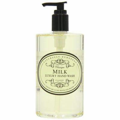 Naturally European MILK Luxury Hand Wash Cleanse & Moisturise 500ml