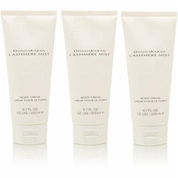 3 Pack - Donna Karan Cashmere Mist Body Creme 6.7 oz for Women