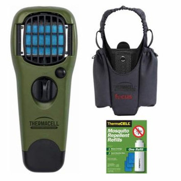 ThermaCELL Camper's Kit: Mosquito Repellent (Olive), Holster and R1 Refill