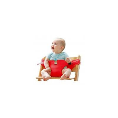 Jeobest Baby Seat Belt Strap - Baby Seat Support - Baby Seat Strap - Safe Seating Strap - Baby Seat Belt Strap Dining Chair Seat Belt Baby Travel Chair Booster Safety Seat Strap Belt MZ (Red)