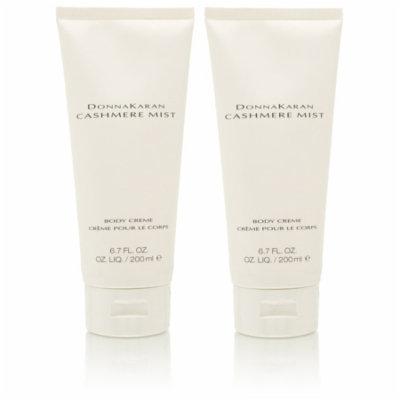 2 Pack - Donna Karan Cashmere Mist Body Cream 6.7 Oz For Women