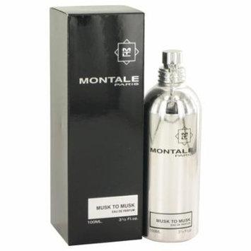 Montale Musk To Musk by Montale - Women - Eau De Parfum Spray (Unisex) 3.4 oz