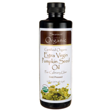 Swanson Certified Organic Extra Virgin Pumpkin Seed Oil
