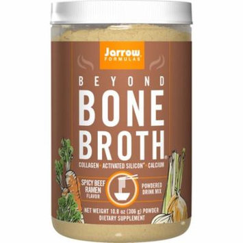 Jarrow Formulas Beyond Bone Broth Collagen + Activated Silicon, Spicy Beef, 10.8 Ounce