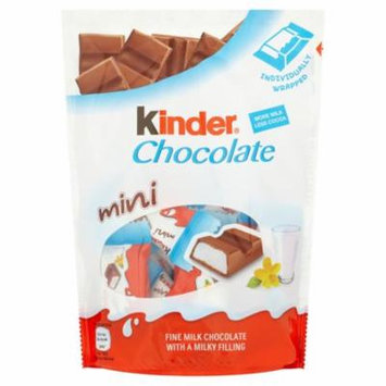 Kinder Mini Chocolate Pouch 108g
