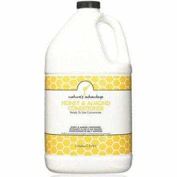 3 Pack - Nature's Advantage Conditioner, Honey & Almond 128 oz