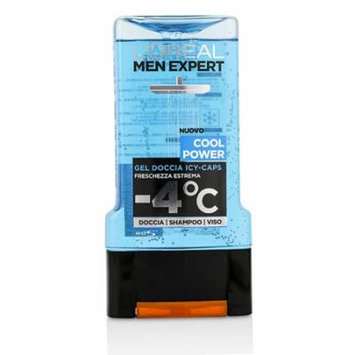 Men Expert Shower Gel - Cool Power (For Body, Face & Hair)-300ml/10.1oz