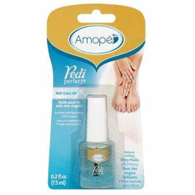 Amope Pedi Perfect Nail Care Oil 0.2 Oz (7.5ml) + FREE Eyebrow Trimmer