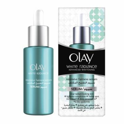 Olay White Radiance Advanced Whitening Intensive Fairness Serum, 40 ml (1.3 Oz) + FREE Eyebrow Trimmer