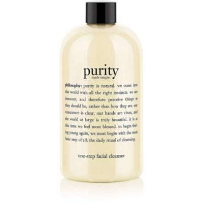 4 Pack - Philosophy Purity Made Simple One-Step Facial Cleanser 16 oz