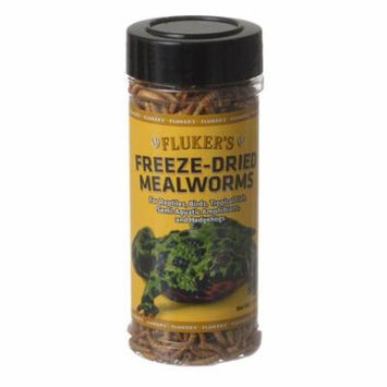 Flukers Freeze-Dried Mealworms 1.7 oz - Pack of 6