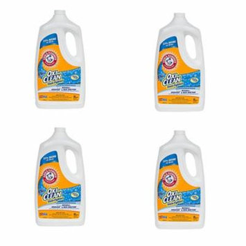 Arm & Hammer 64Oz Professional Strength OxiClean Carpet Washer Solution (4 Pack)