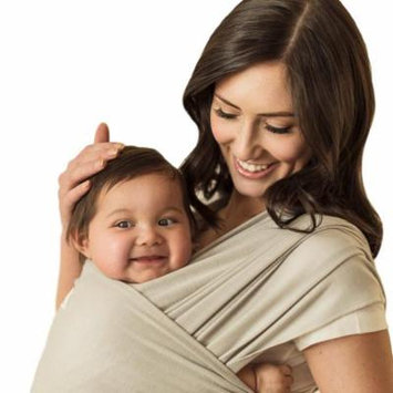 Seven Sling Baby Infant Wrap Carrier Multiple Ways 8-35 Lbs -Gray-
