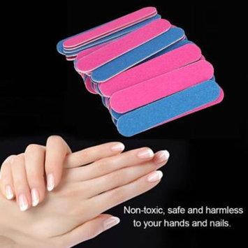 VGEBY 50Pcs/Set Nail Art Manicure Pedicure Tool Nail Sanding Files Buffer Polisher,Nail Art Buffer, Glass Nail File