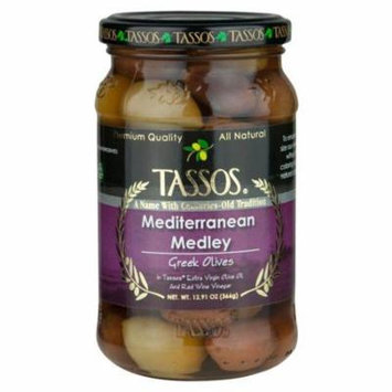 Mediterranean Medley Olives (Tassos) 12.9 oz