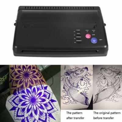 VGEBY Tattoo Transfer Printer, Stencil Transfer Machine,2 Type Professional A5 A4 Tattoo Transfer Copier Thermal Stencil Paper Printer Machine