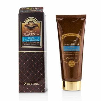 Premium Placenta Clear Foam Cleansing-180ml/6oz