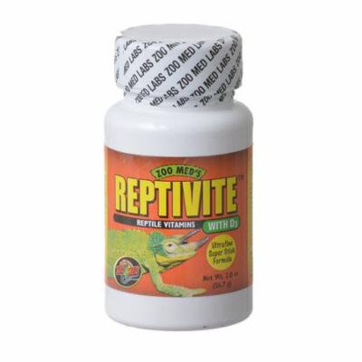 Zoo Med Reptivite Reptile Vitamins with D3 2 oz - Pack of 10