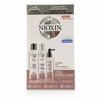 3D Care System Kit 3 - For Colored Hair, Light Thinning, Balanced Moisture-3pcs