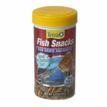 Tetra Fish Snacks - Sun Dried Anchovies 1.13 oz (32 g) - Pack of 2