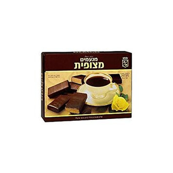 Manamim Coated Wafers Filled With Chocolate Cream 14.1 Oz. Pk Of 3.